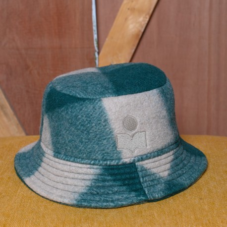 HALEY BOB HAT GREEN ISABEL...