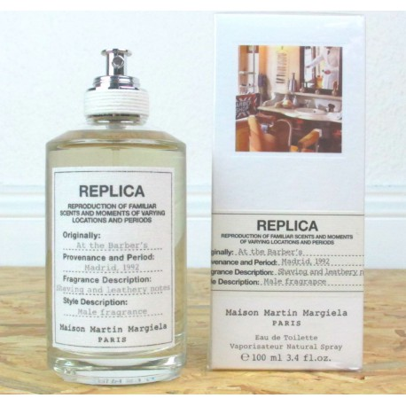 REPLICA AT THE BARBER'S / MAISON MARTIN MARGIELA