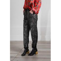 Pantalon imprimé Scott Lurex Roseanna