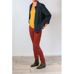 Brick red leggings Zeffery Isabel Marant Etoile