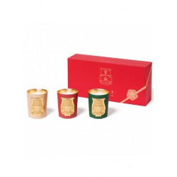 Set of Cire Trudon 3 Christmas candles 100 gr Star, Light, Sky