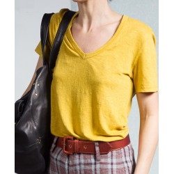 Top jaune Kranger Isabel Marant Etoile