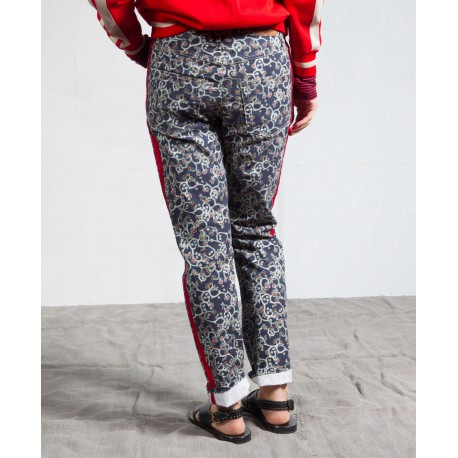 FLIFF 5 pockets pants in printed cotton Isabel Marant Etoile