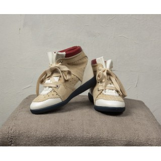 BRYCE Tennis blanches oeillets argentés  Isabel Marant