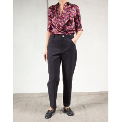 TINE LLOYD Navy suit pants Roseanna