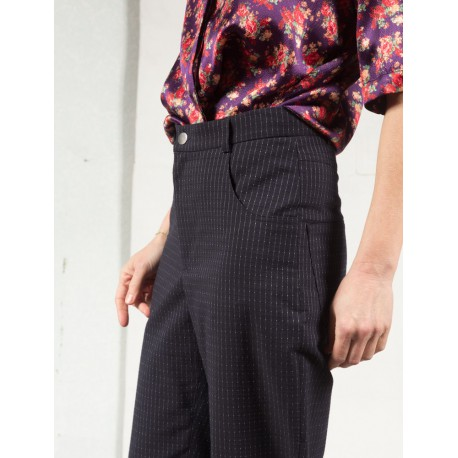TINE LLOYD Navy suit pants Roseanna