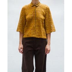 BELLA ULYSSE Lace short sleeves top Roseanna