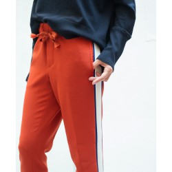 CLOSED loose pants with side tape