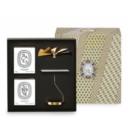 Carousel Diptyque gift box two candles Baies Tubéreuse