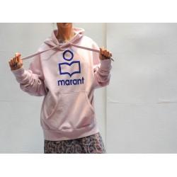 MANSEL pink hooded sweat shirt Isabel Marant Etoile