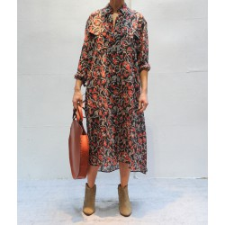ELIANE long printed dress Isabel Marant Etoile