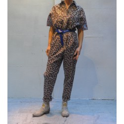 LINDSIE cotton printed jumpsuit Isabel Marant Etoile