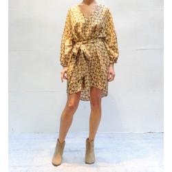 VILLA SUCCESS Roseanna Robe tunique encolure V
