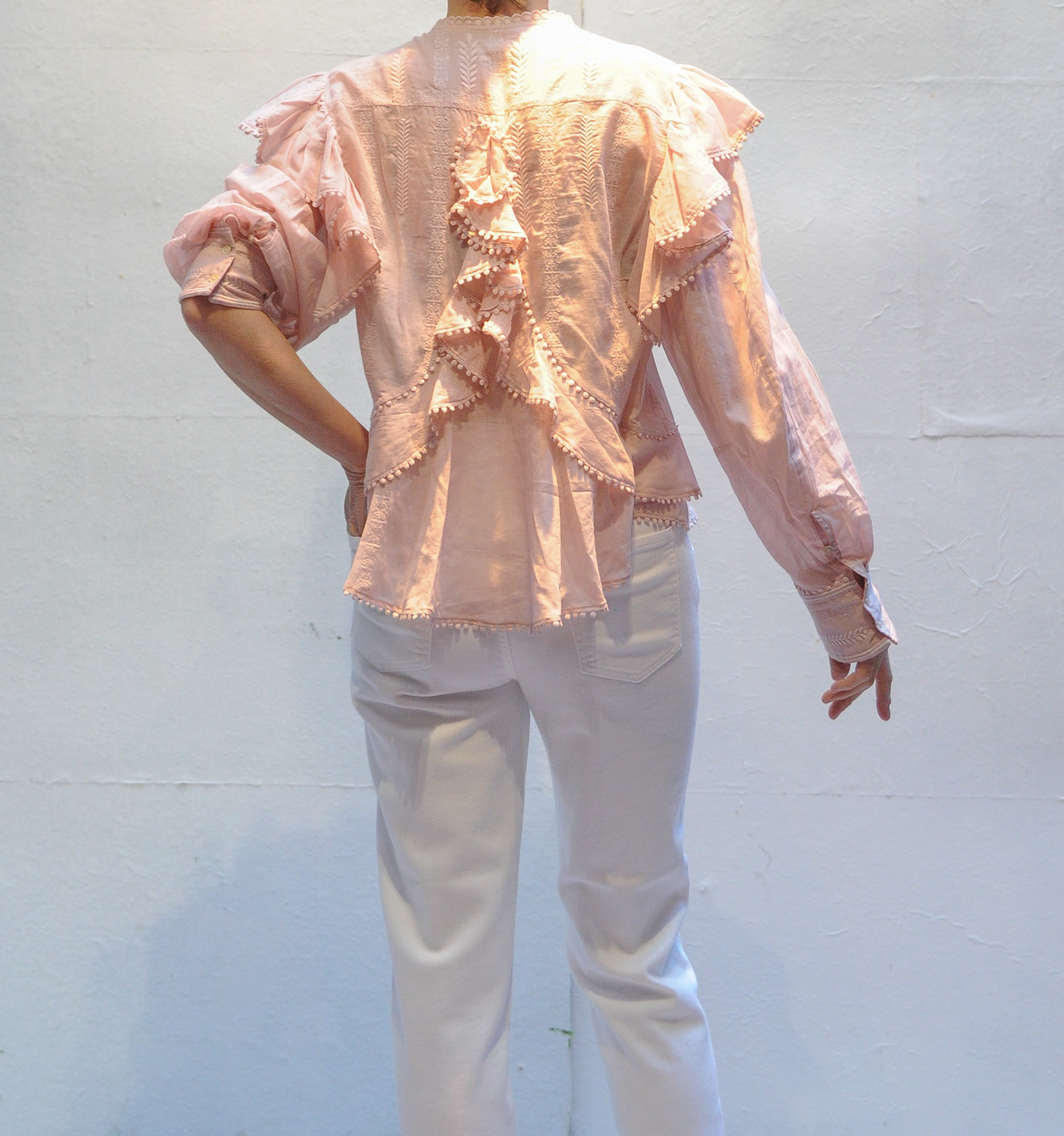 e5d1e3a63d7df ALEA cotton shirt with embroidered ruffles Isabel Marant Etoile