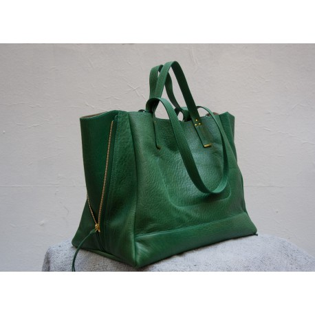 GEORGES L green shopping bag Jérôme Dreyfuss