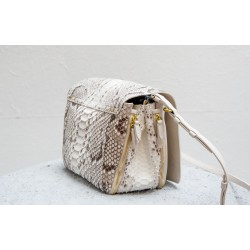 IGOR shoulder bag white python Jérôme Dreyfuss
