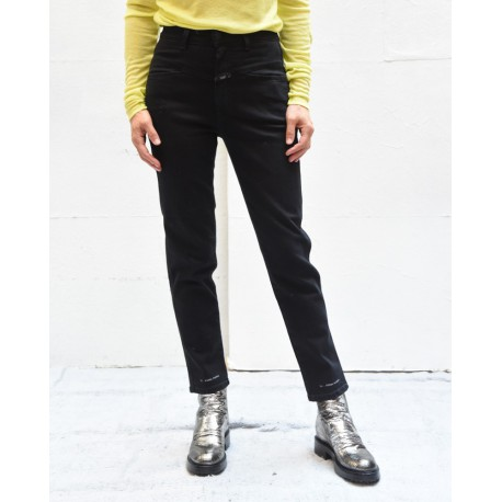 CLOSED C8800204Z21 Pedal pusher black cotton pants