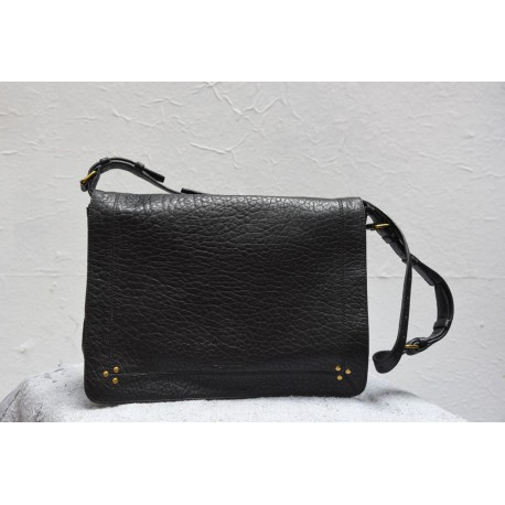 ALBERT  Shoulder bag Black bubble lamb  Jérôme Dreyfuss