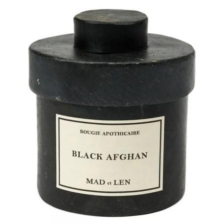 MAD et LEN Bougie d'apothicaire Black Afghan 300gr
