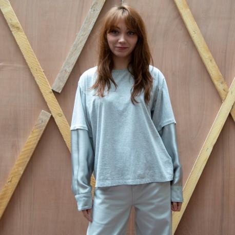 S52NC0257 MM6 T-shirt coton...