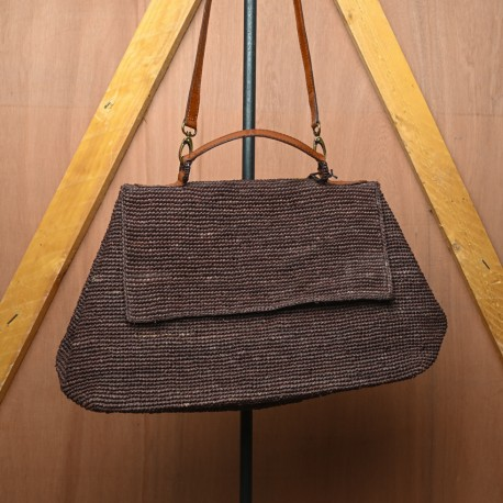 IBELIV LAHADY BROWN STRAP BAG